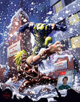 Wolverine digital illustration