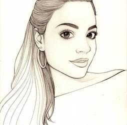 lineart Natalia Figueiredo by carvalhooak