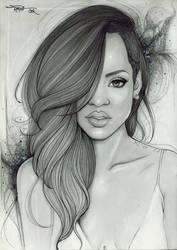 Rihanna by carvalhooak