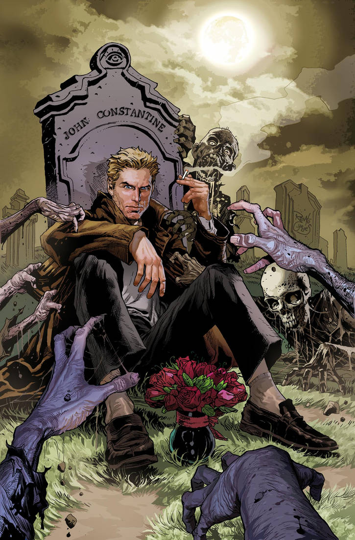John Constantine Exorcises DEATH BATTLE! by BangJang96 on DeviantArt