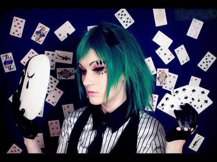 GUMI -  Poker Face by Katy-Angel