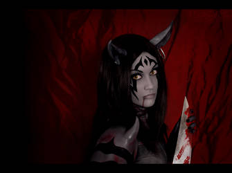 Alice Madness Returns  - Cheshire by Katy-Angel