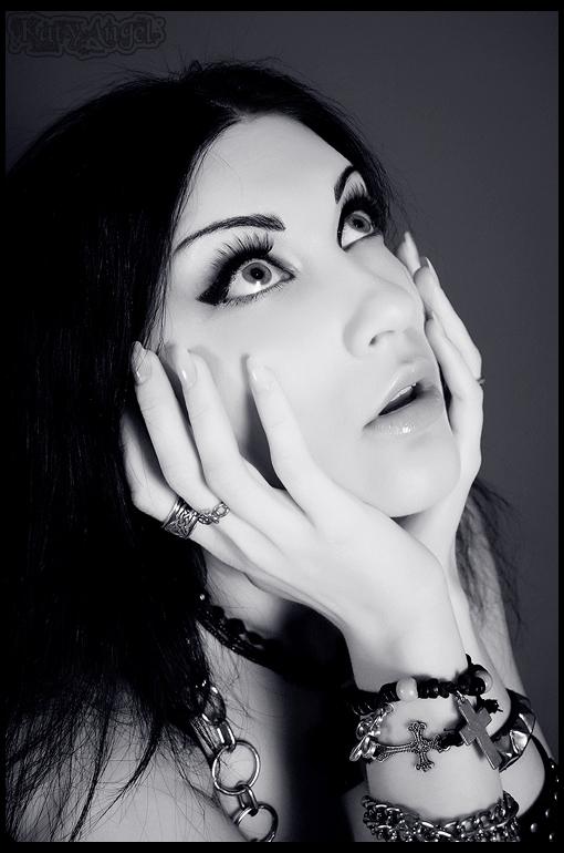 Gothic  Portrait by Katy-Angel