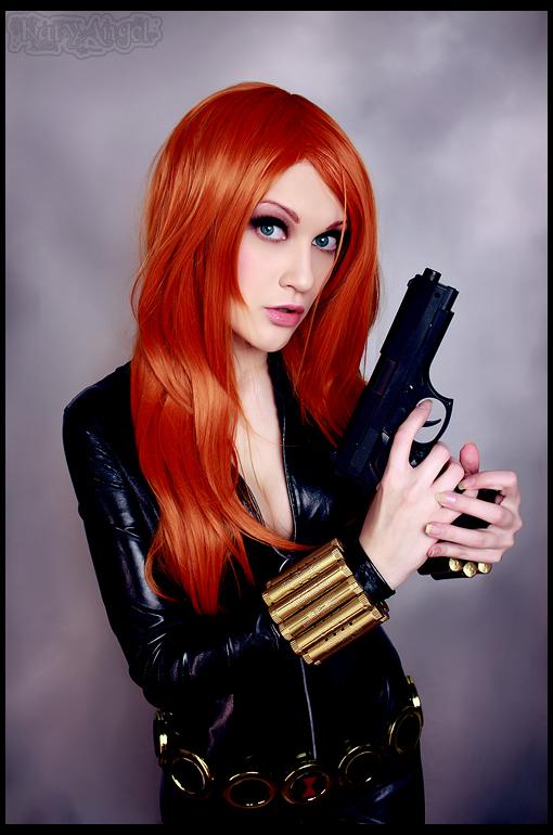 Marvel - Black Widow - Bishoujo by Katy-Angel