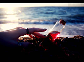 The Magic Bottle -  Life Potion by Katy-Angel