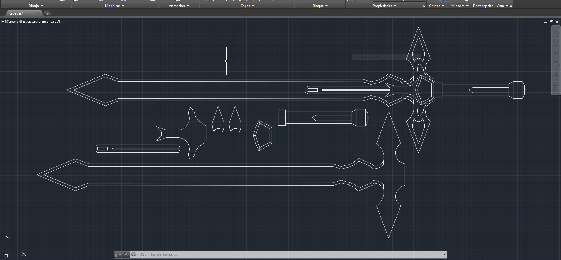 Sao Cosplay Dark Repulser Sword Template By Virusvicio