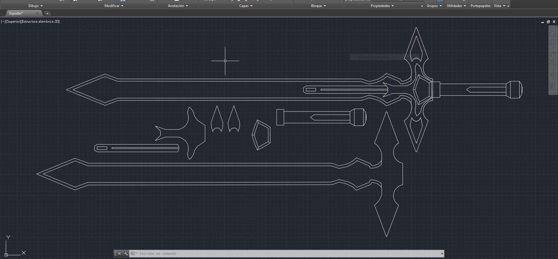 Sao Cosplay Dark Repulser Sword Template By Virusvicio