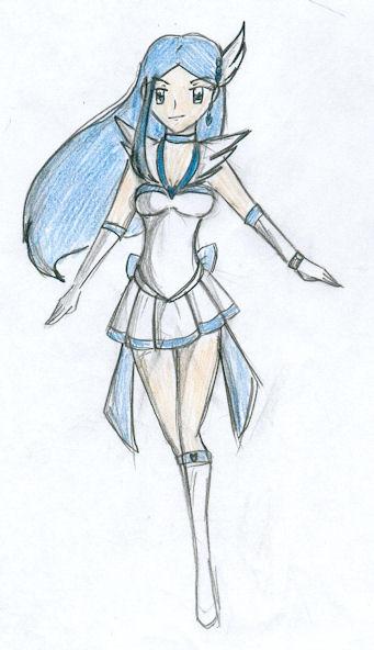 Sophia the Tellus Warrior by CandySkitty