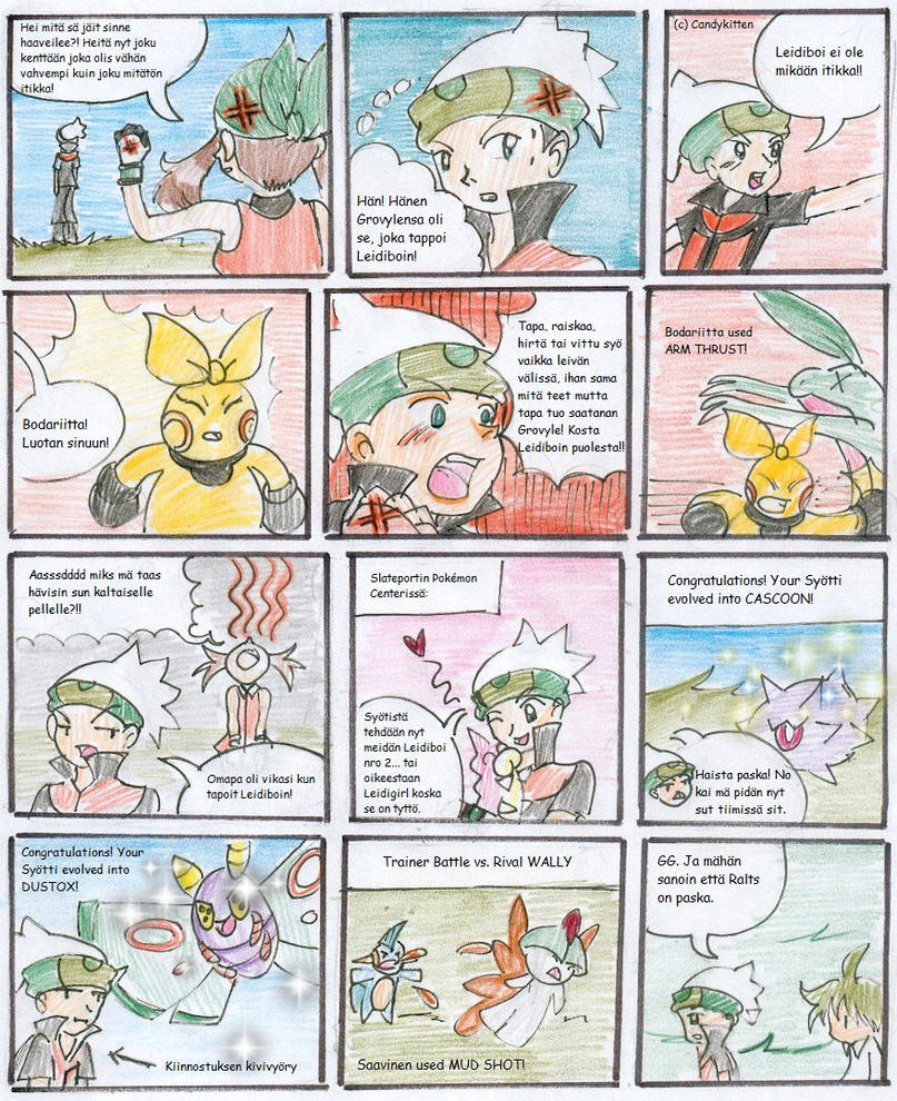 Pokemon Emerald Nuzlocke 15 by CandySkitty