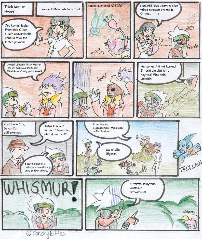 Pokemon Emerald Nuzlocke 17 by CandySkitty