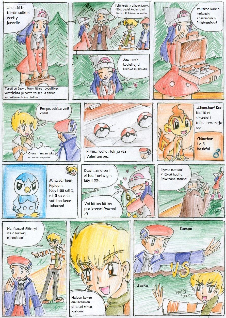 Pokemon Platinum Nuzlocke 04 by CandySkitty
