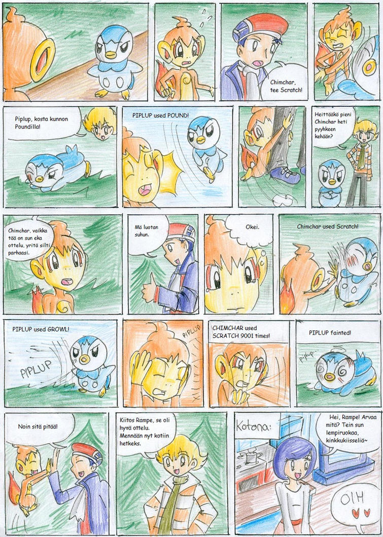 Pokemon Platinum Nuzlocke 05 by CandySkitty