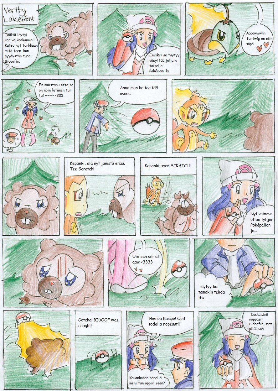 Pokemon Platinum Nuzlocke 09 by CandySkitty