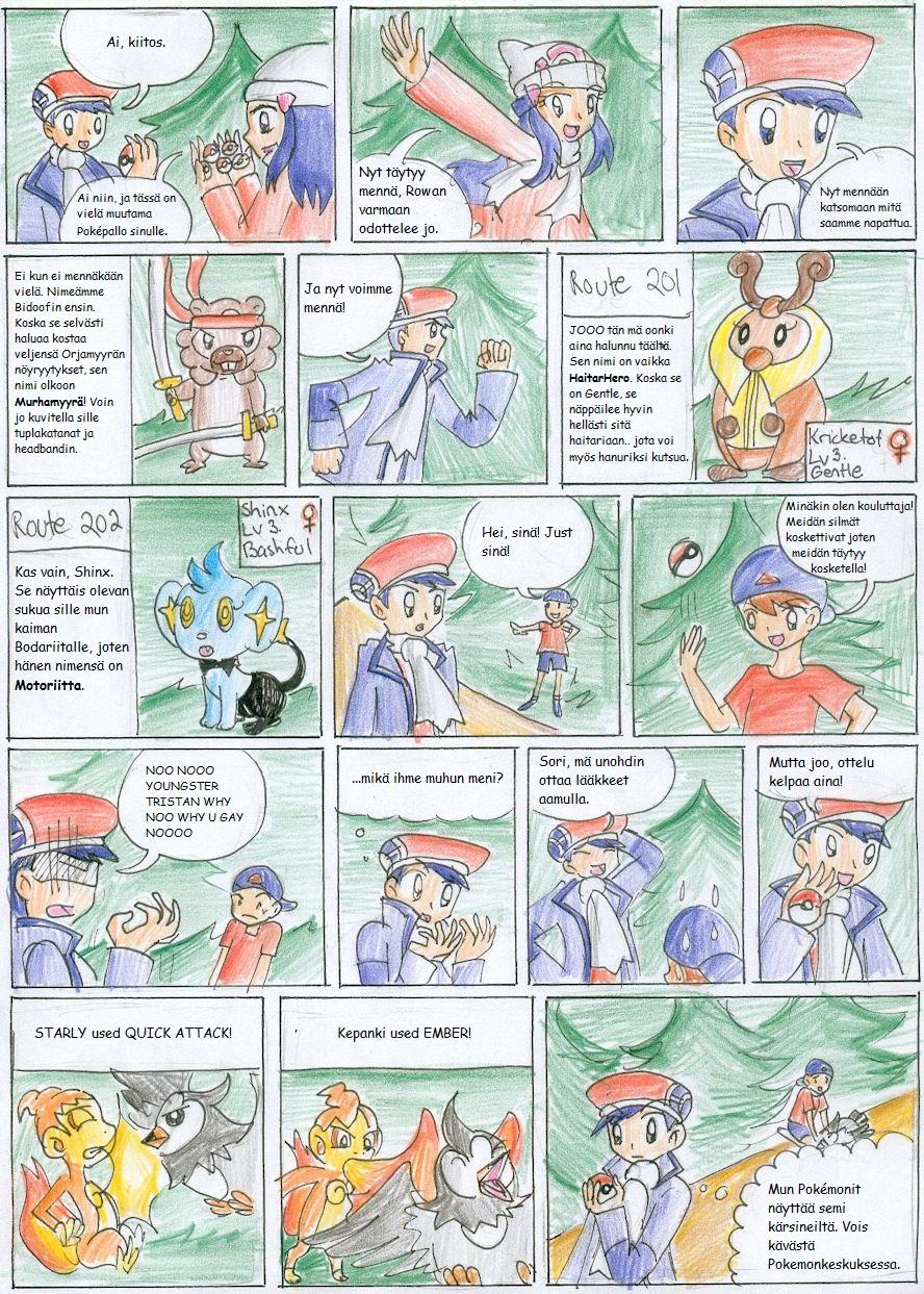 Pokemon Platinum Nuzlocke 10 by CandySkitty