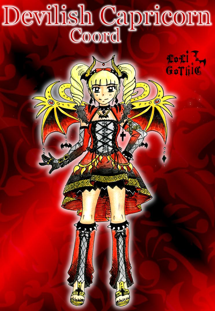 Devilish Capricorn Coord by CandySkitty