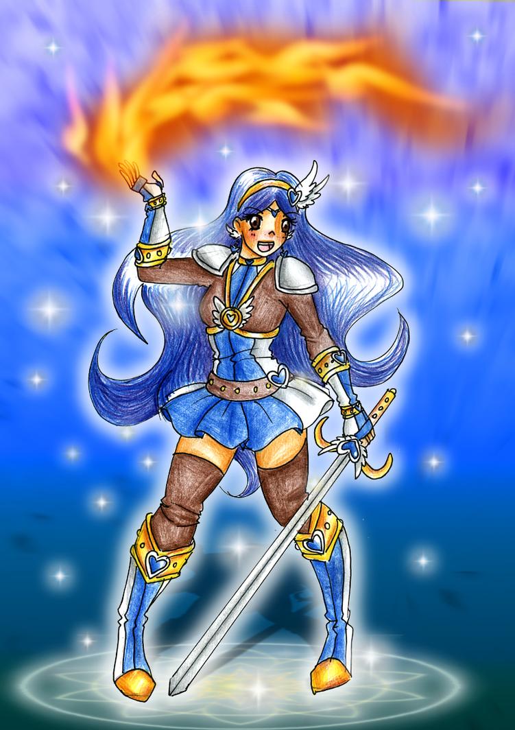 Sophia the Blaze by CandySkitty