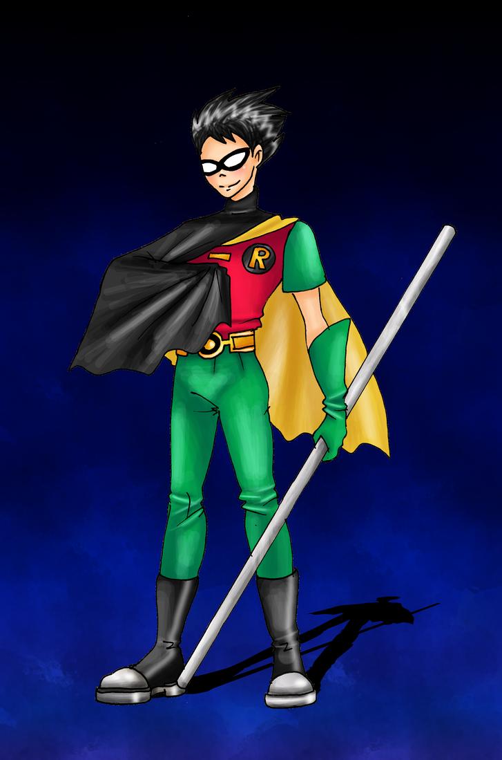 Robin by CandySkitty