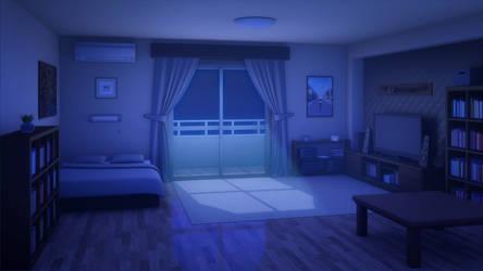 Room 115. Night