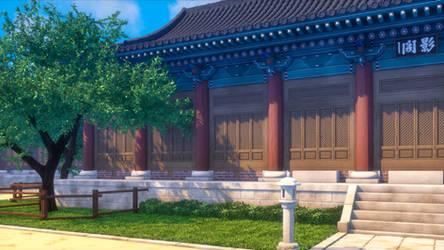Korean Buddhist Temple