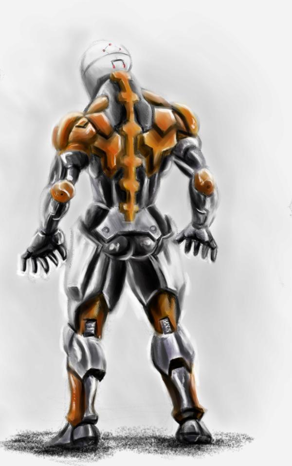 Cyborg Ninja by makoidede on DeviantArt