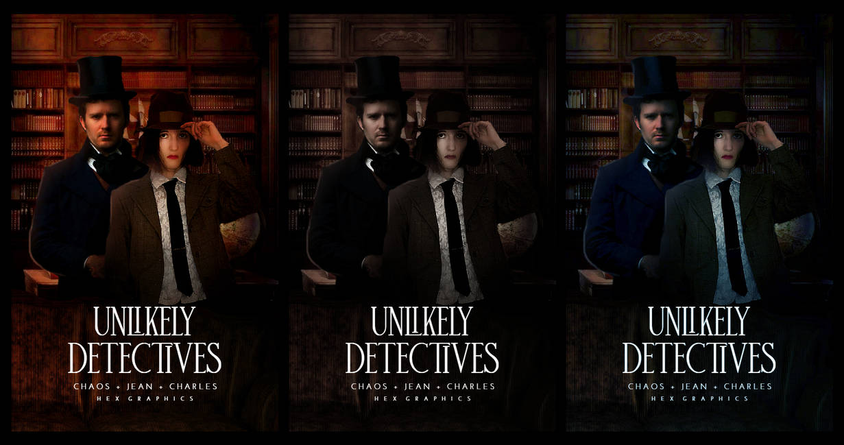 Unlikely Detectives- Practice Covers