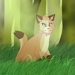Pretty Lady Of The Forest by LittleCloudyMuffin