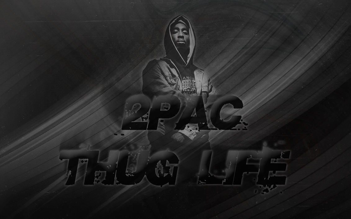 2pac thug life by curtisblade on deviantart