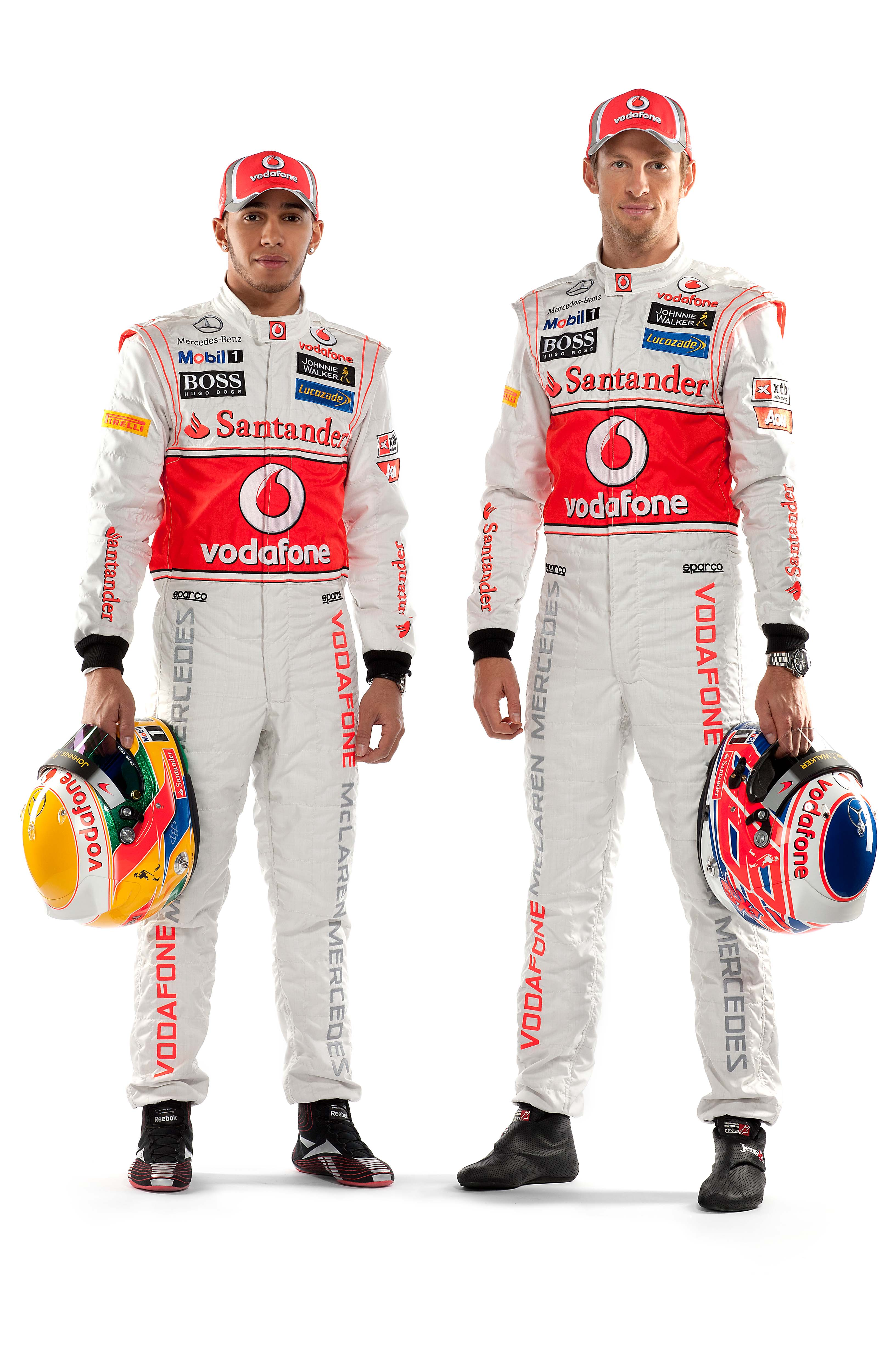 ¿Cuánto mide Lewis Hamilton? - Estatura y peso - Real height Lewis_hamilton_and_jenson_button_by_curtisblade-d4obey1