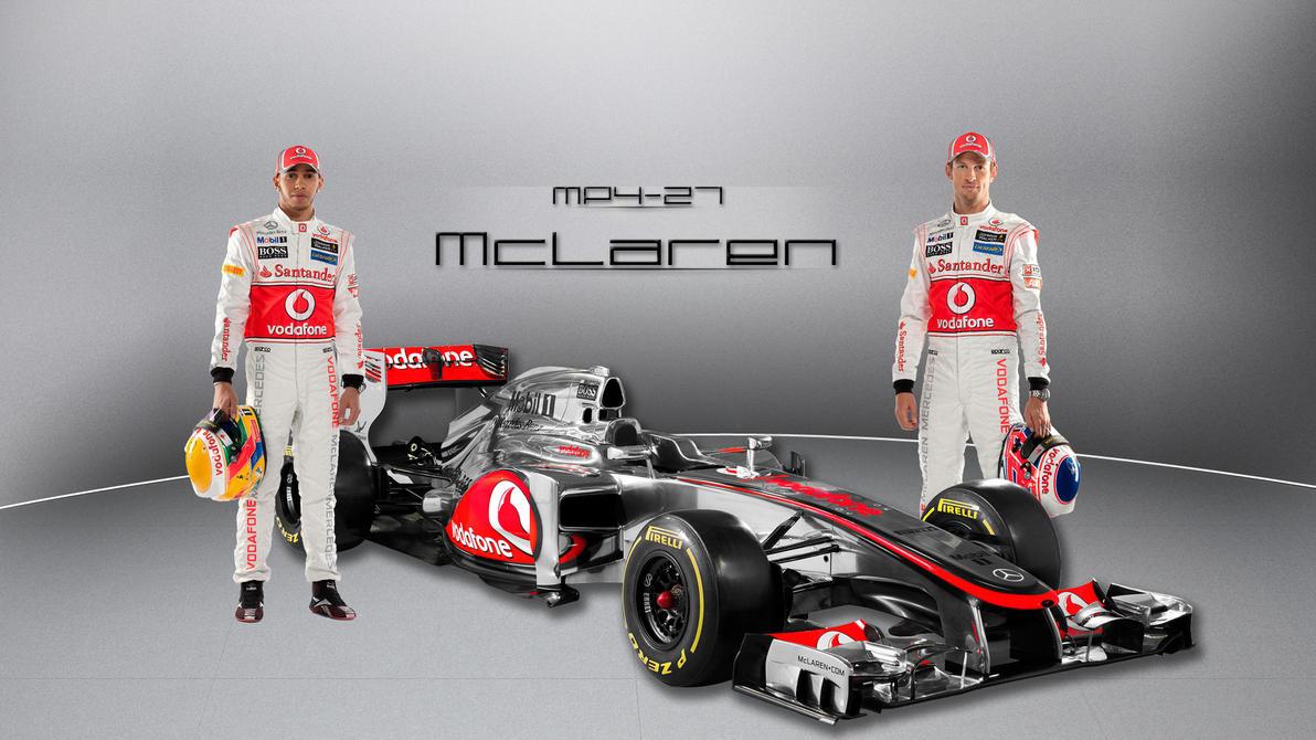 McLaren MP4-27 by curtisblade