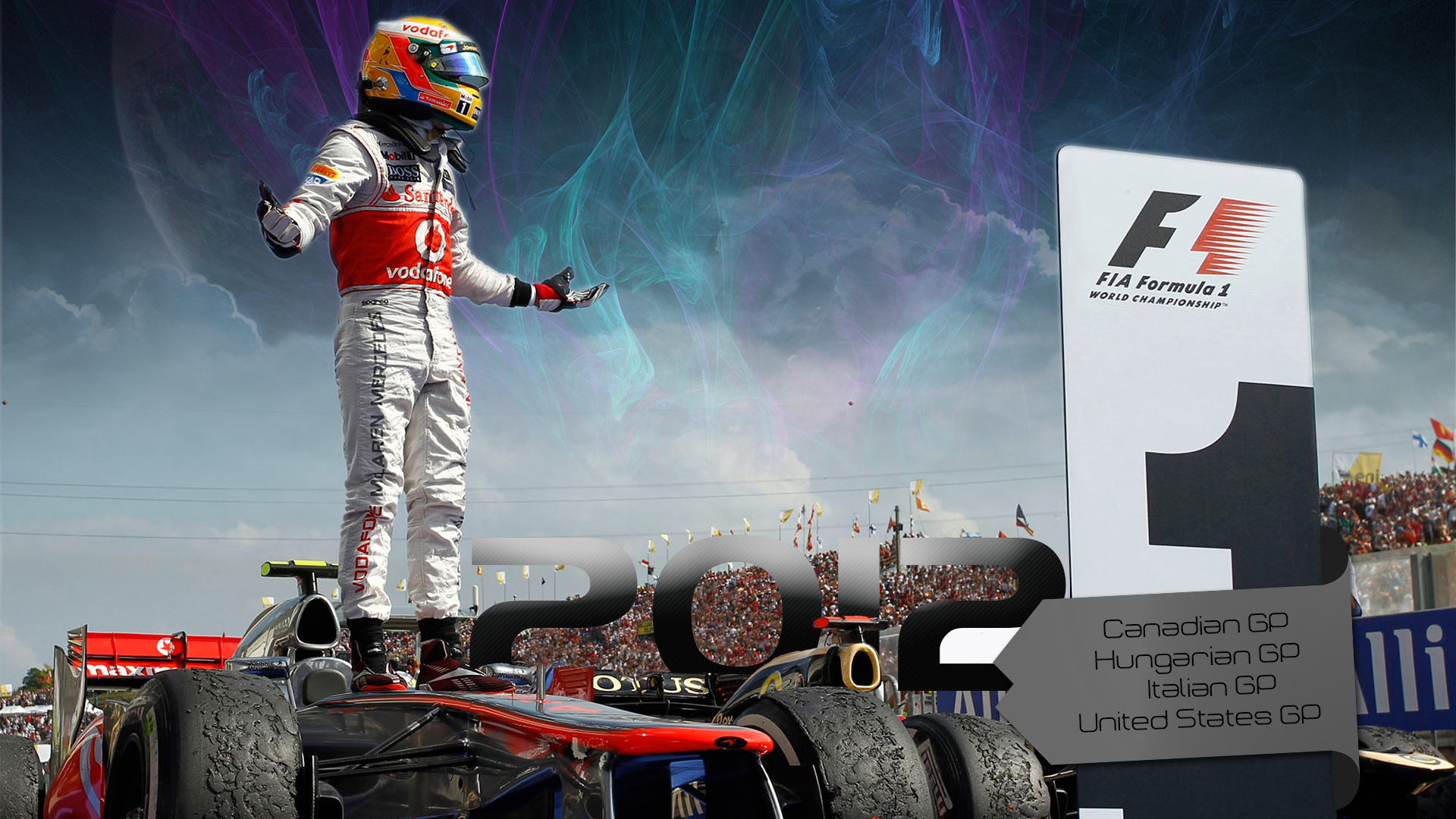 Lewis Hamilton 2012 by curtisblade