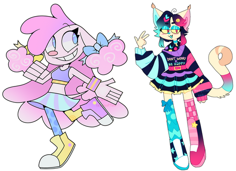 funky adopts ota open (collab w/ Zoiby)