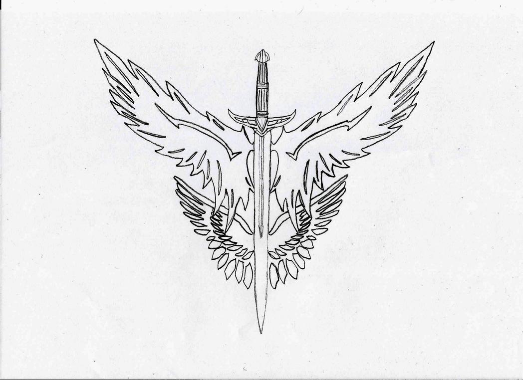 winged sword emblem wwwimgkidcom the image kid has it