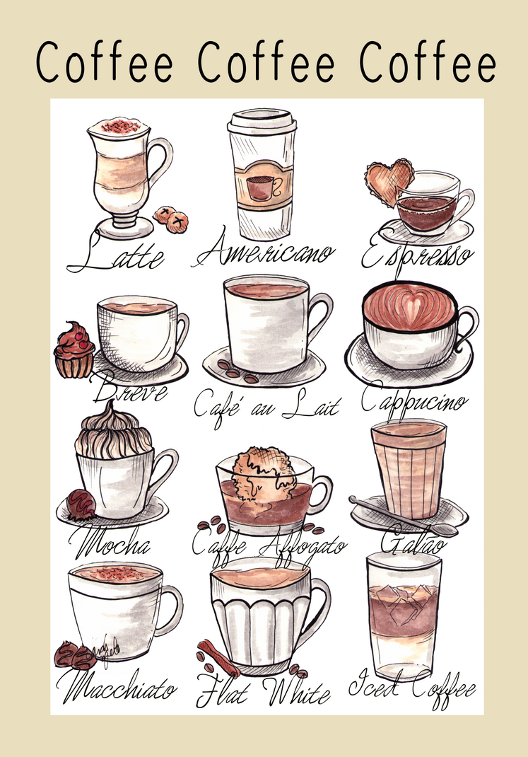 Coffee Coffee Coffee by ThaisMelo