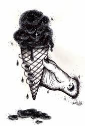 O universo numa casquinha de sorvete