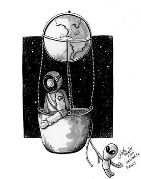 Inktober52 - Planet