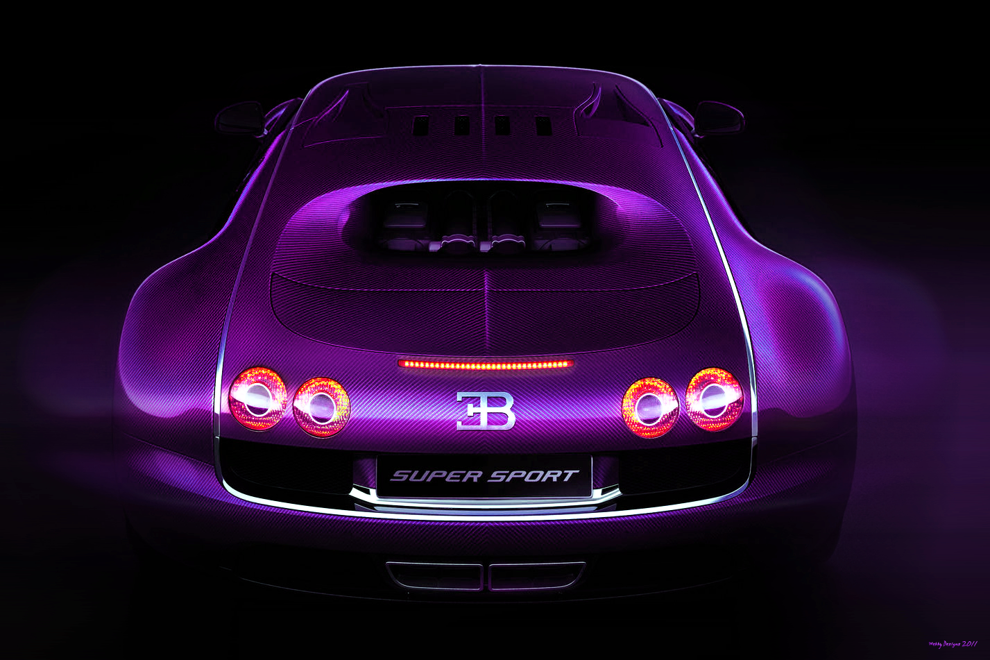 Bugatti Veyron Super Sport By Webby B