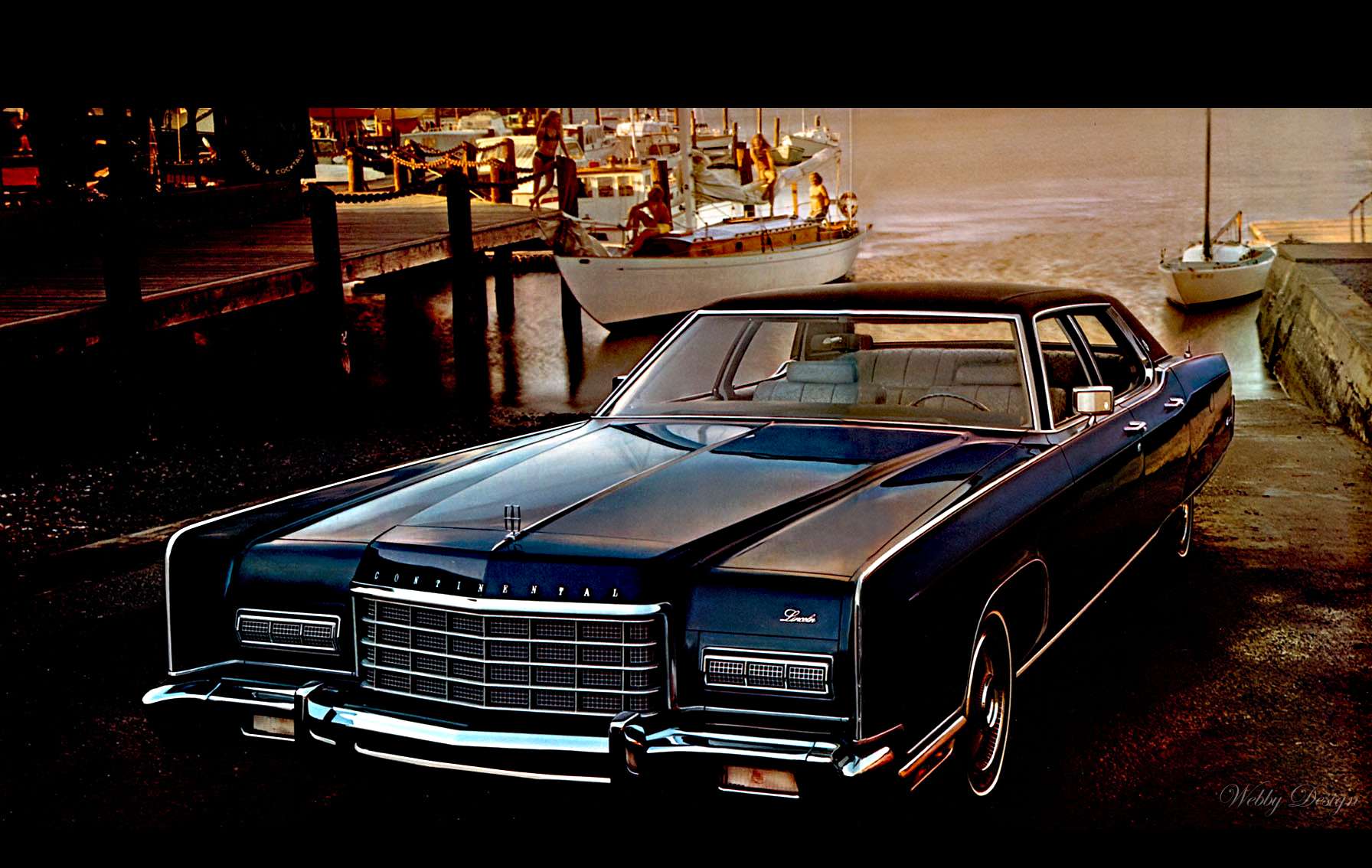 lincoln continental 1972 by webby b on deviantart. Black Bedroom Furniture Sets. Home Design Ideas