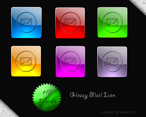 Glossy Mail by Webby-B