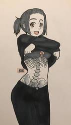[GORETOBER] Day 13 - Visible bones