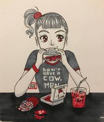 [GORETOBER] Day 14 - Cannibalism