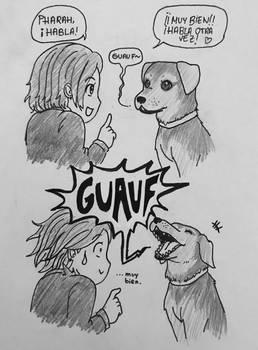 Vocal pup
