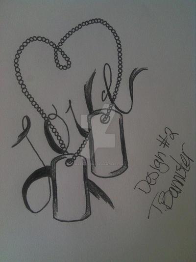 dog tag tattoo design 2 by hatakereina on deviantart. Black Bedroom Furniture Sets. Home Design Ideas