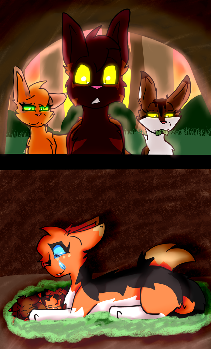 Your Blinding Light .:RosethornXStripetail:. by Bubble-Empress