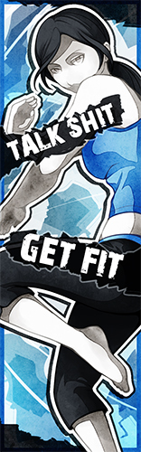 Wii Fit Trainer Bookmark by driflooning
