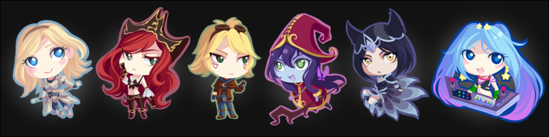 League of Legends Chibis pt.1 by driflooning