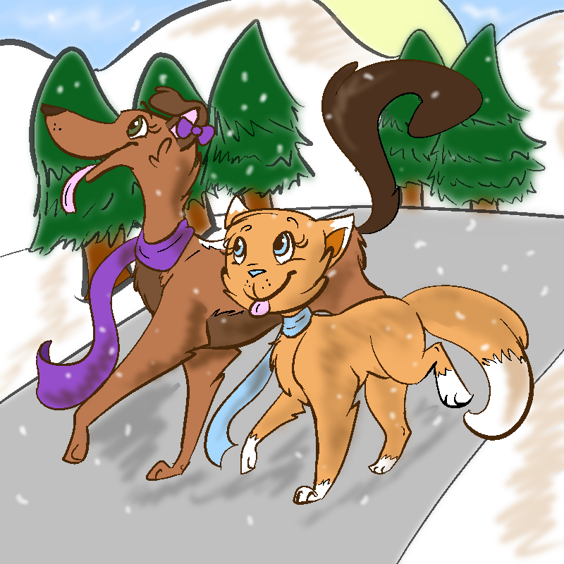 Catching Snowflakes by Erudi