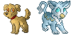 Spirit and Griff Pixels by Erudi
