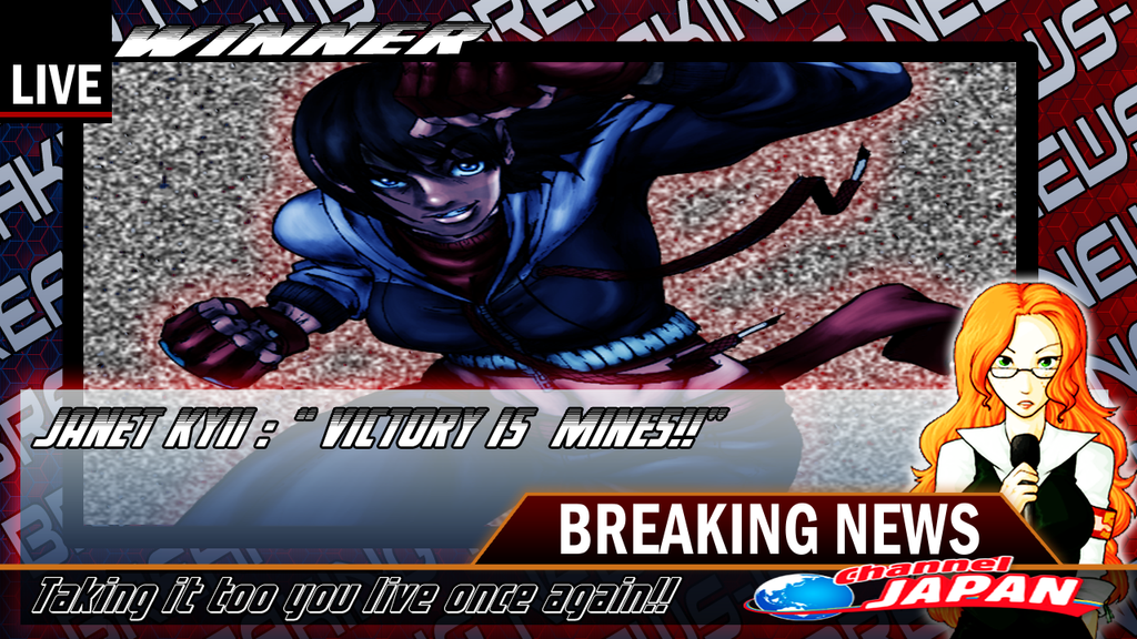 BREAKING NEWS! JANET KYII WINS! by cvsnb
