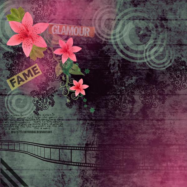 flowerpink_grey by juststyleJByKUDAI