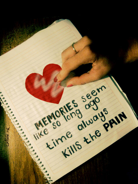 Time always kills the pain